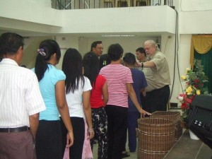 Ministering with Bishop Avel - Philippines